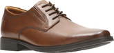 Clarks - TILDEN PLAIN DARK TAN
