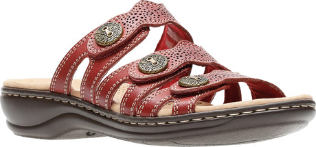Clarks - LEISA GRACE RED