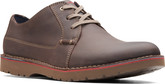 Clarks - VARGO PLAIN DARK BROWN