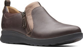 Clarks - UNADORN ZIP DARK BROWN