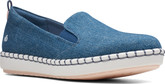 Clarks - STEP GLOW SLIP DENIM