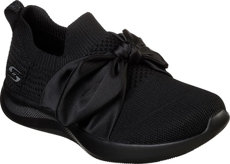 Bobs Squads 2 Bow Beauty Black Quarks Shoes