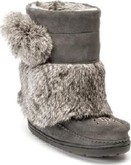 Manitobah Mukluks - SNOWY OWLET CHARCOAL YOUTH