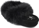Manitobah Mukluks - MINI MOCCASIN BLACK CHILD