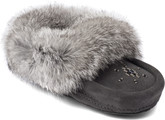 Manitobah Mukluks - MINI MOCCASIN CHARCOAL CHILD