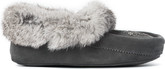 Manitobah Mukluks - MINI MOCCASIN CHARCOAL YOUTH