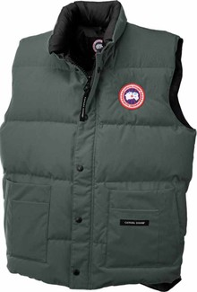 Canada Goose - M FREESTYLE VEST SLATE