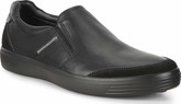 Ecco - SOFT 7 SLIP ON BLACK