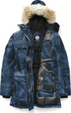 Canada Goose - EXPEDITION PARKA BLUE ABSTRACT