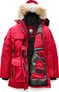 EXPEDITION PARKA FF RED