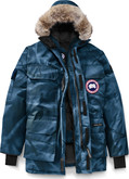 Canada Goose - EXPEDITION PARKA BLUE CAMO