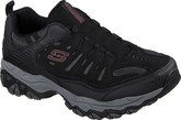 Skechers - AFTERBURN M.FIT WONTED BLACK