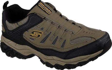 Skechers - AFTERBURN M.FIT WONTED PEBBLE