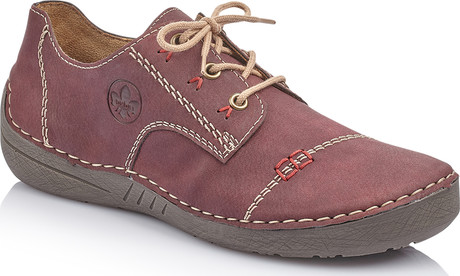 Rieker - BURGUNDY LACE UP