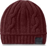 Canada Goose - LADIES CABLE TOQUE ELDERBERRY