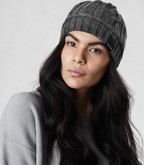 Canada Goose - LADIES CABLE TOQUE IRON GREY
