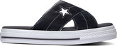Converse - ONE STAR SANDAL BLACK WHITE