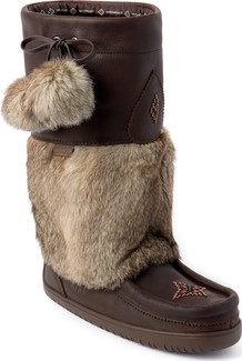 Manitobah Mukluks - SNOWY OWL GRAIN WP COCOA