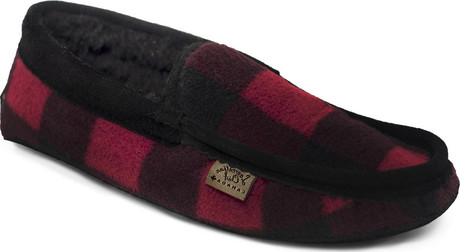 Eugene Cloutier - BUFFALO PLAID LINED SLIPPER