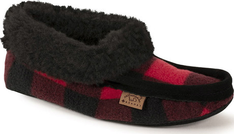 Eugene Cloutier - BUFFALO PLAID SLIPPER WITH CUF