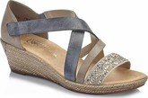 Rieker - CRISS CROSS STUDDED MULTI SAND