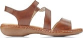 Rieker - BROWN CRISS CROSS SANDAL