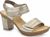 Rieker - LIGHT GOLD HEELED SANDAL