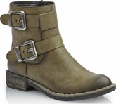 Rieker - GREEN 2 BUCKLE BOOT