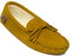 L'S TAN SUEDE LINED SLIPPER