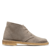 Clarks - DESERT BOOT TAUPE SUEDE