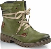 Rieker - GREEN LACE UP BOOT