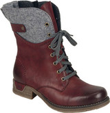 Rieker - LACE UP WINE BOOT