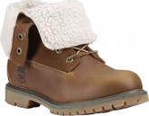 Timberland - TEDDY FLEECE WP DARK BROWN FG
