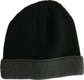Sterling Glove - ACRYLIC TOQUE BLACK GREY