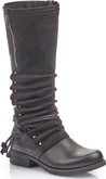 Rieker - BLACK TALL ANTIQUE BOOT
