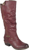 Rieker - TALL RED BOOT