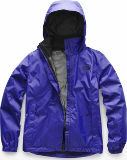 The North Face - W RESOLVE 2 JACKET AZTEC BLUE