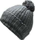 The North Face - COZY CHUNKY BEANIE ASPHALT GRE