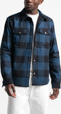 The North Face - M CAMPSHIRE SHIRT BLUE WING
