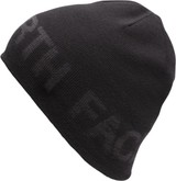 The North Face - REVERSIBLE BANNER BEANIE BLACK