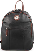Joanel - BACKPACK BAG BLACK BROWN
