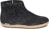 Glerups - WOOL FELT BOOT LEATHER SOLE