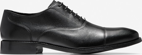 Cole Haan - CAP TOE II BLACK