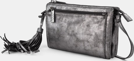 Joanel - METALLIC CROSSBODY BAG BLACK