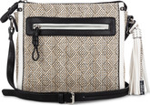 Joanel - CROSSBODY BAG IN STRAW WITH FA