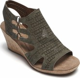 Cobb Hill - JANNA PERF SANDAL GREEN