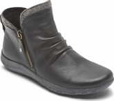 Cobb Hill - AMALIE SIDE ZIP BOOT BLACK
