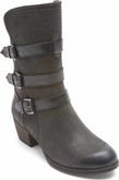 Cobb Hill - ANISA 3 BUCKLE BOOT BLACK