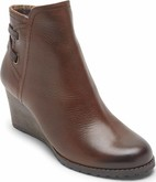 Cobb Hill - LUCINDA BACK TIE BOOT TAN