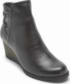 Cobb Hill - LUCINDA BACK TIE BOOT BLACK